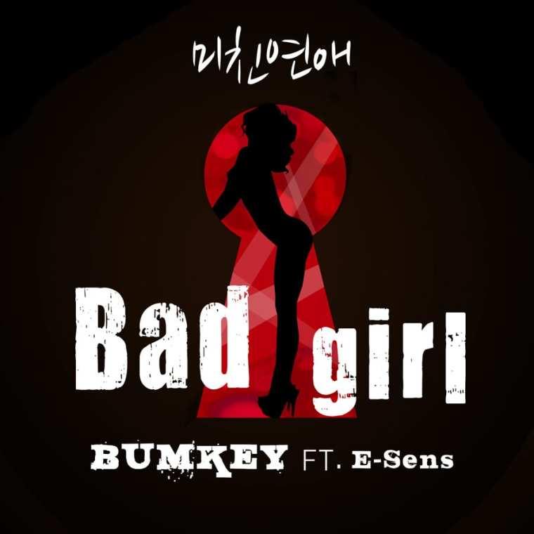 Bumkey - 미친연애 (Bad Girl) (Ft. E Sens) cover