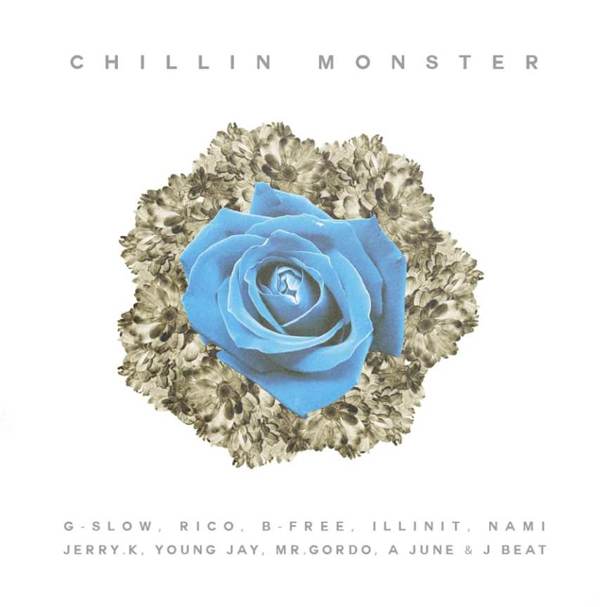 Chillin Monster - Flower cover