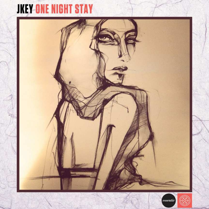 J;KEY - One Night Stay cover