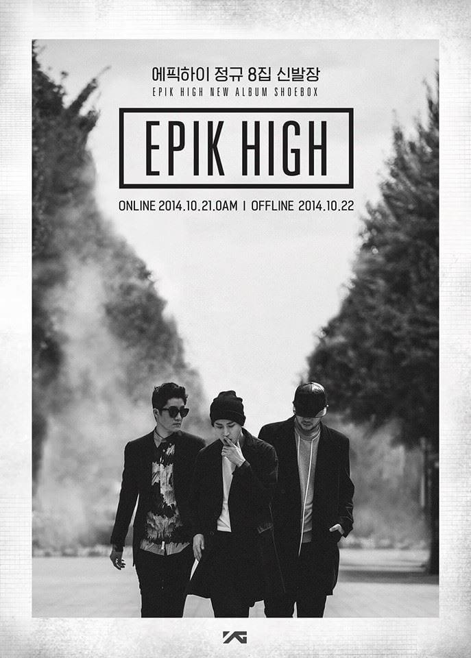 Epik High - 신발장 (Shoebox) promo poster