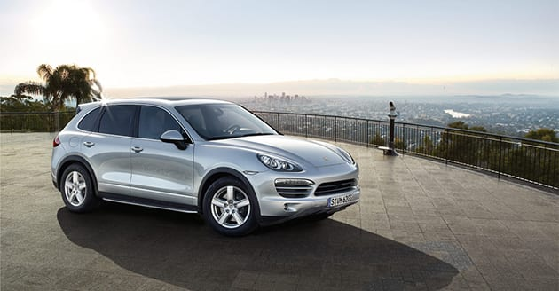 Porsche Cayenne ($104,702-140,599 USD)