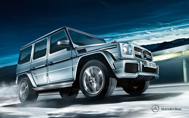 Mercedes Benz G63 ($186,051 USD)
