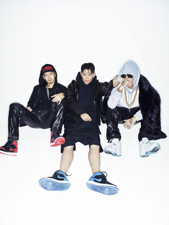 The Quiett, Beenzino, and Dok2 for W Korea Magazine