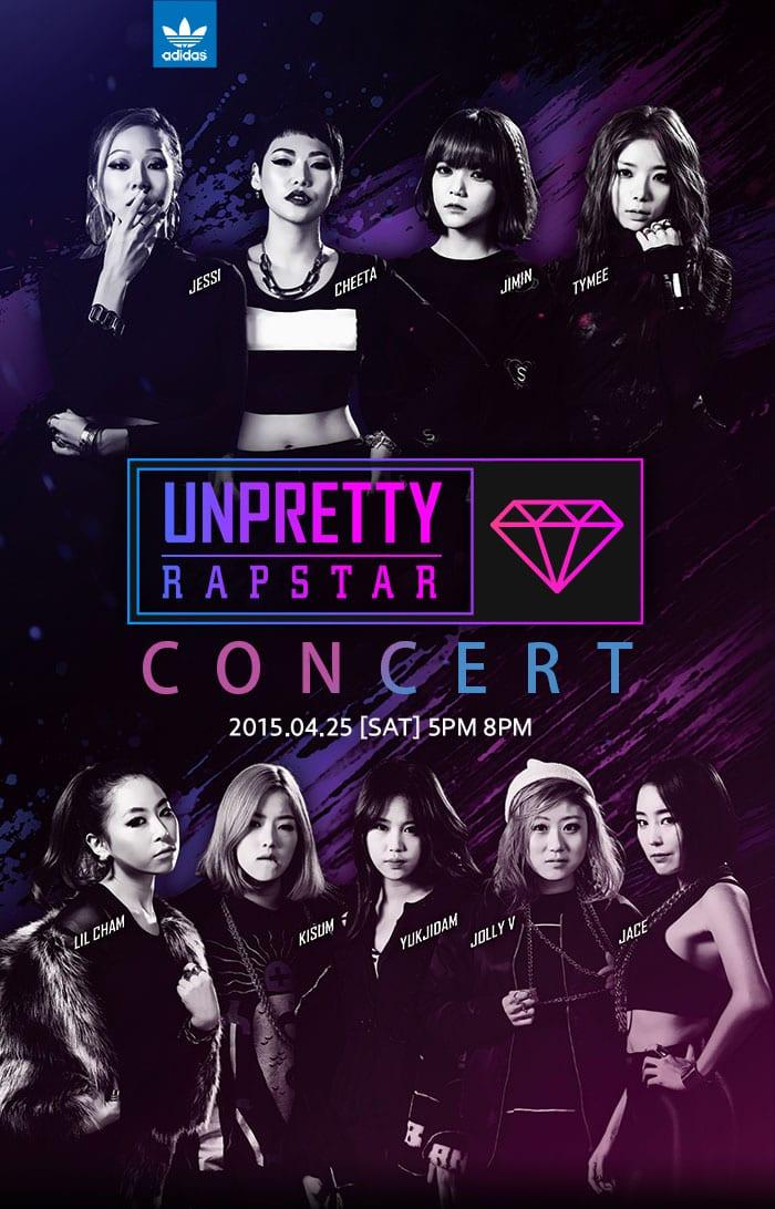 Unpretty Rapstar Concert poster