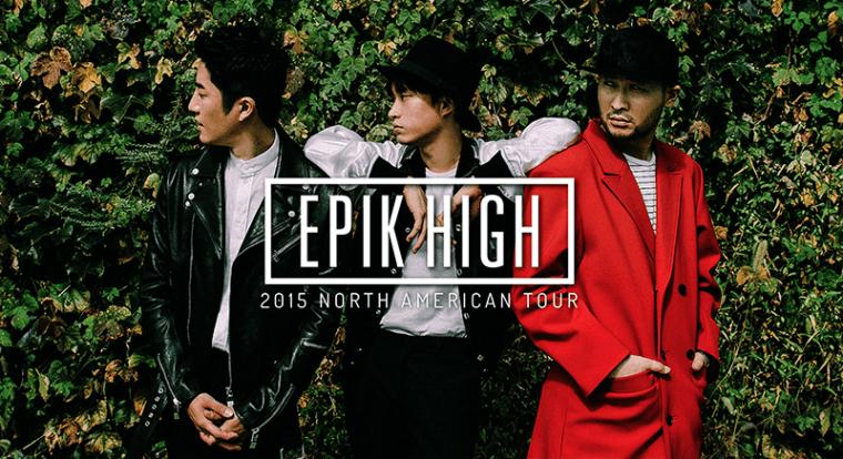 Epik High 2015 North American Tour promo image