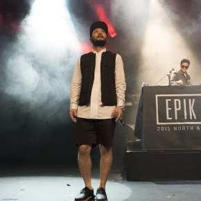 Mithra Jin and DJ Tukutz