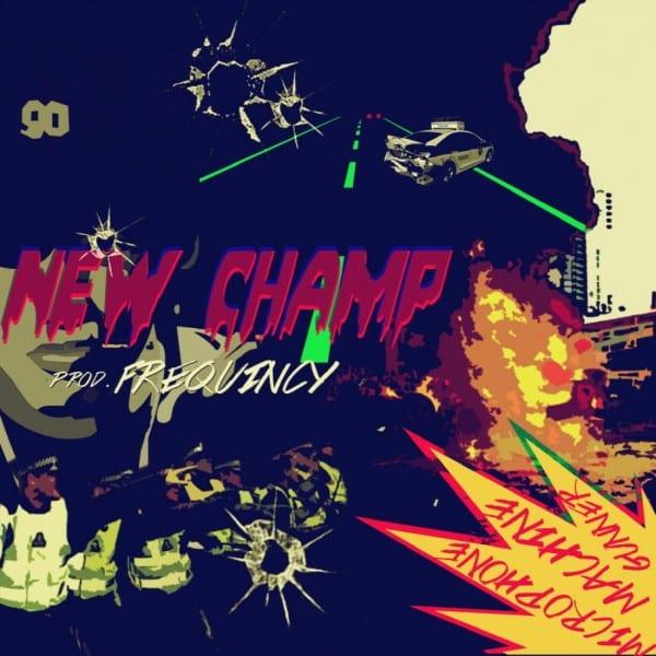 New Champ - Microphone Machine Gunner (cover)