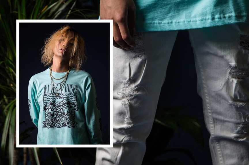 keith ape pink dolphin lookbook fall ii 2