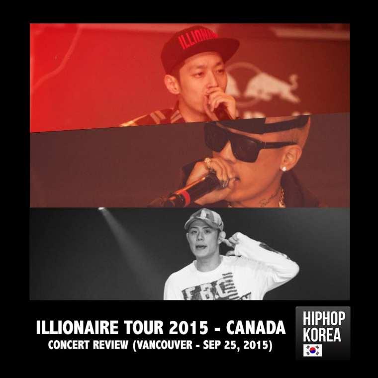 Illionaire Tour 2015 Canada - concert review poster