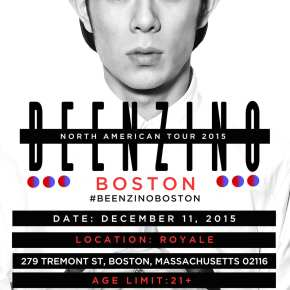Beenzino - North American Tour 2015 Boston