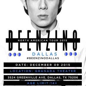 Beenzino - North American Tour 2015 Dallas