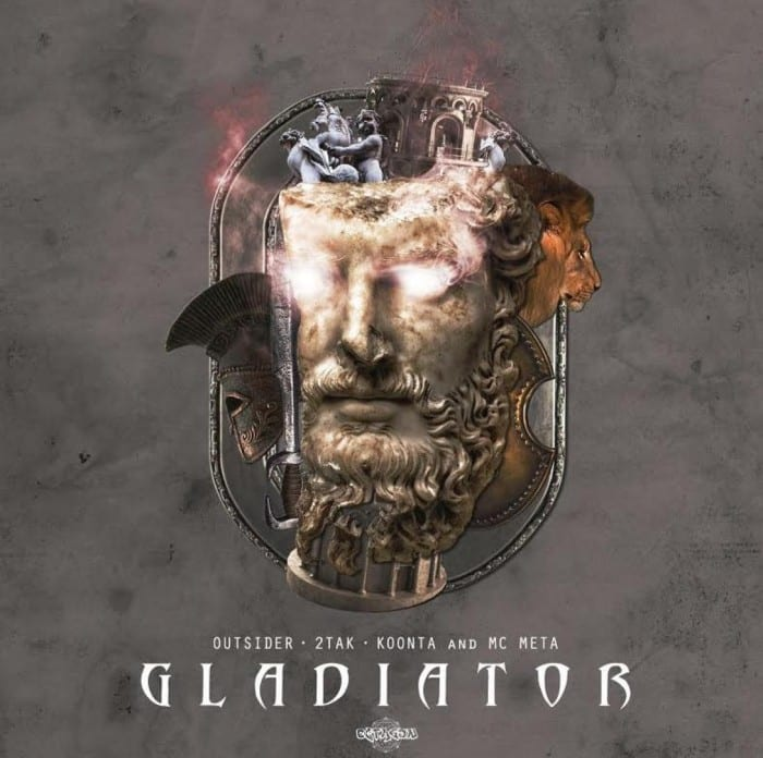 Outsider & 2TAK - Gladiator (Feat. Koonta and MC Meta) cover