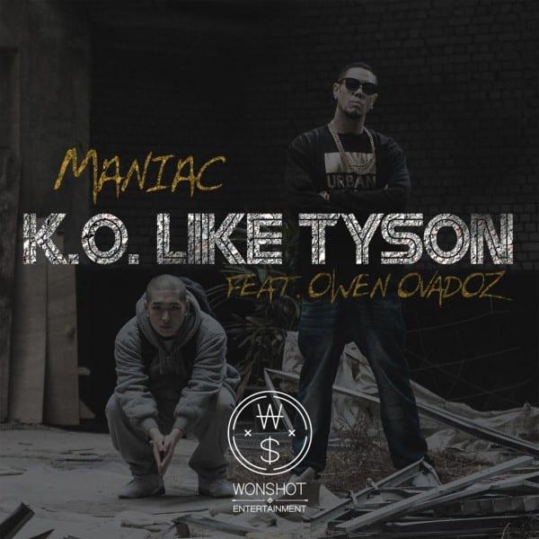 Maniac - K.O Like Tyson (Feat. Owen Ovadoz) album cover