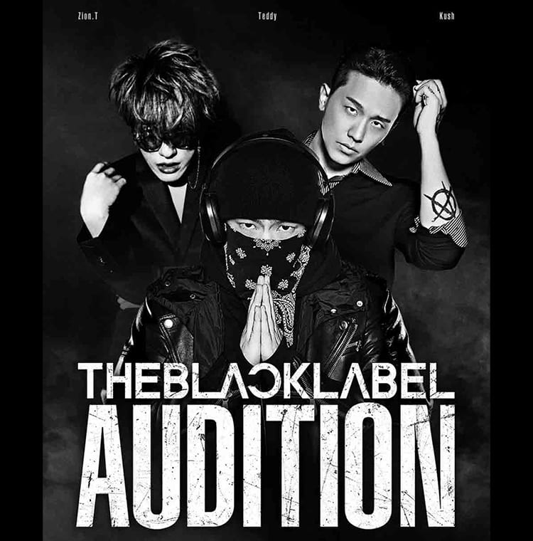 The Black Label poster with Zion.T, Teddy, Kush