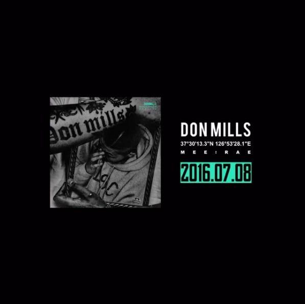 Don Mills - Mee:rae upcoming album