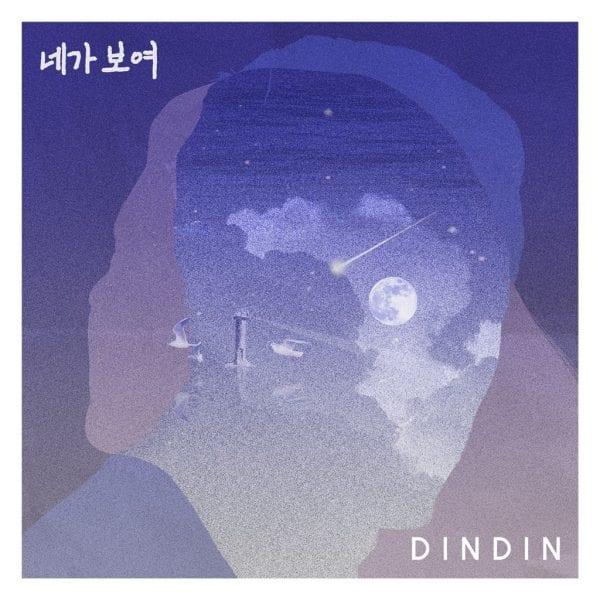 DinDin - 네가 보여 (album cover)