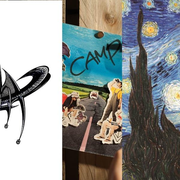 Album covers of Symbol, Camp, 밤에 듣기 좋은 노래