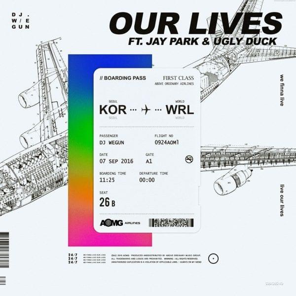 DJ Wegun - Our Lives (album cover)