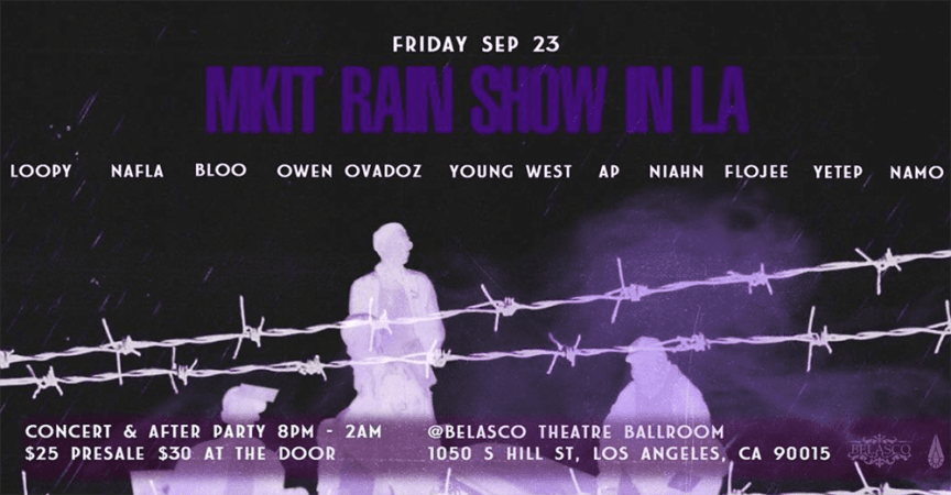 MKIT RAIN SHOW poster