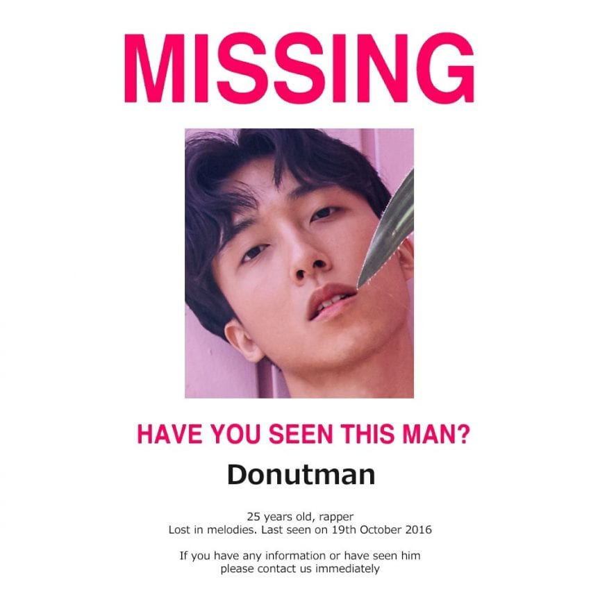 Donutman - Lost In Melodies Part 1 (album cover)