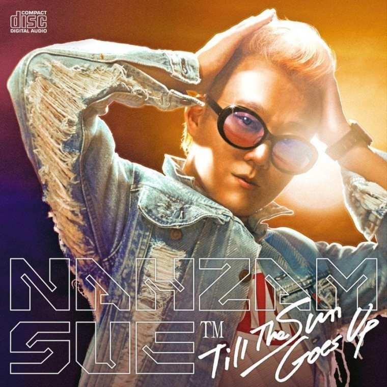 Nahzam Sue - Till The Sun Goes Up (album cover)