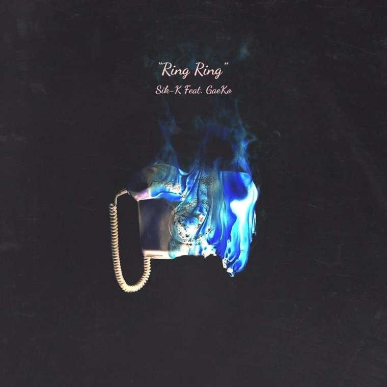 Sik-K - RING RING (album cover)