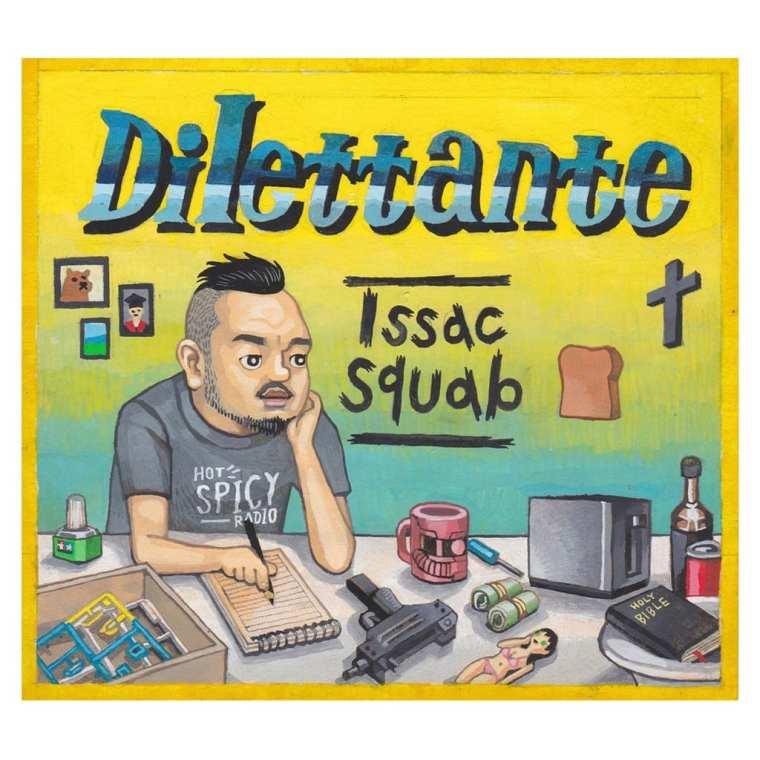 Issac Squab - Dilettante (album cover)