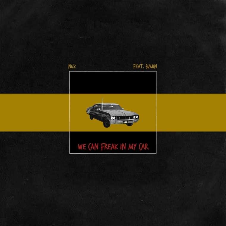 NUZ - WE CAN FREAK IN MY CAR (album cover)