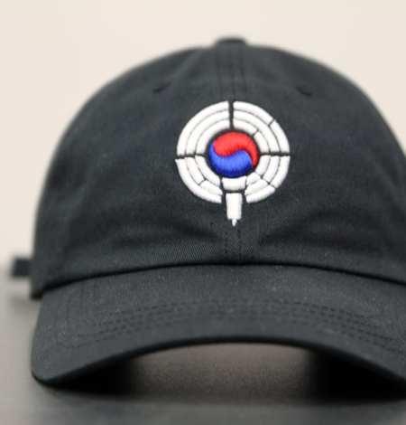 black dad hat - front