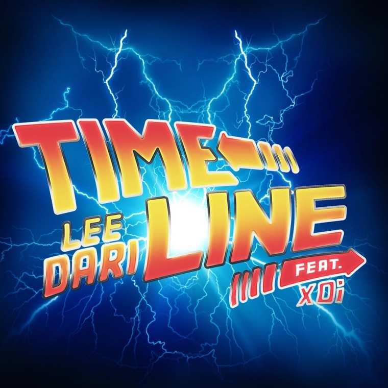 Lee Dari - Time Line (album cover)
