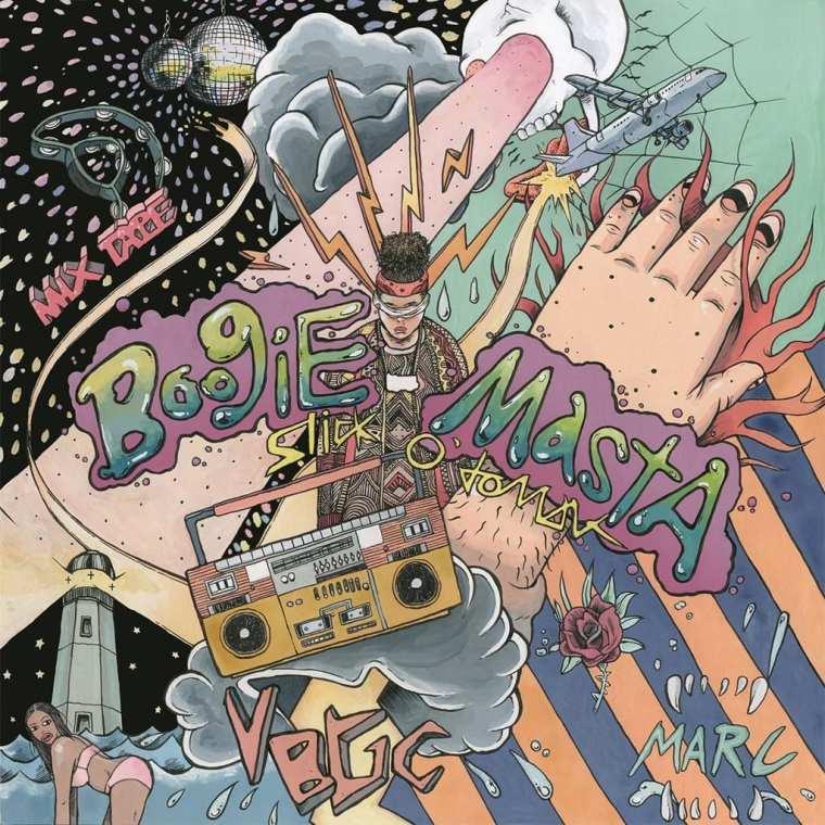 Slick O'domar - BoogiE MastA (album cover)
