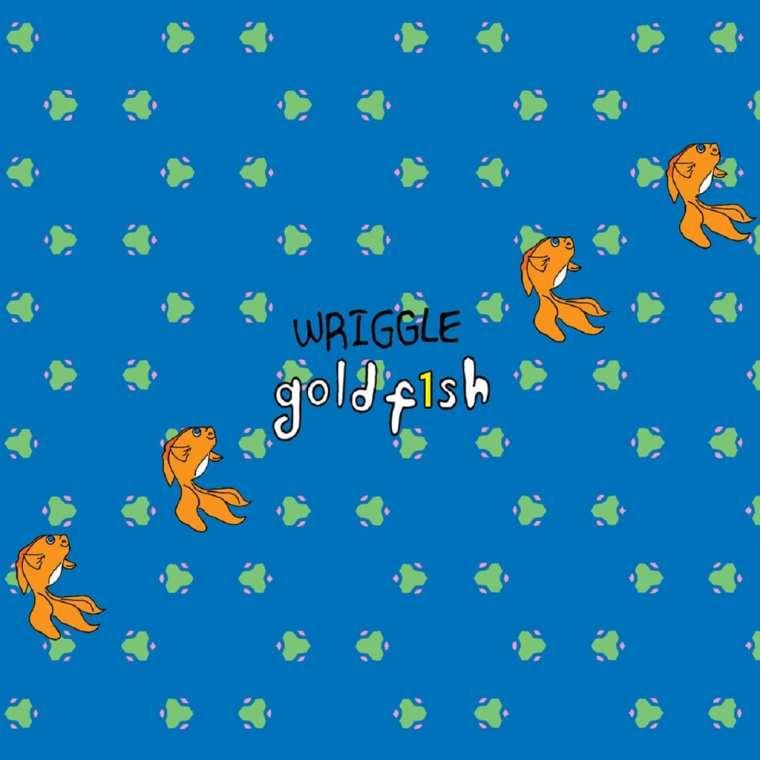 Goldfish - Wriggle (album cover)