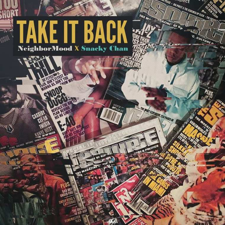 NeighborMood, Snacky Chan - Take It Back (album cover)