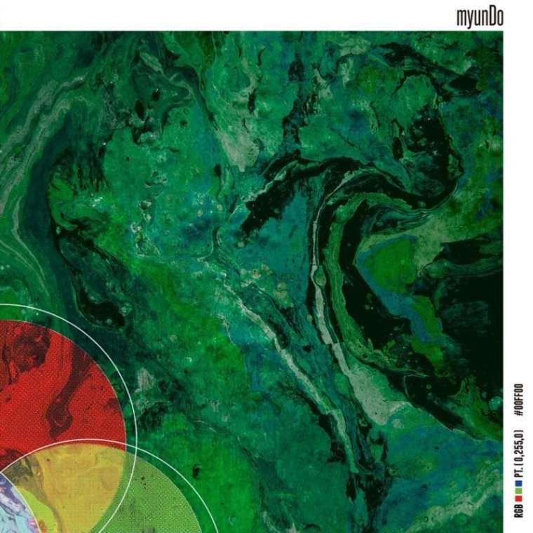 myunDo - RGB pt.(0,255,0) (album cover)