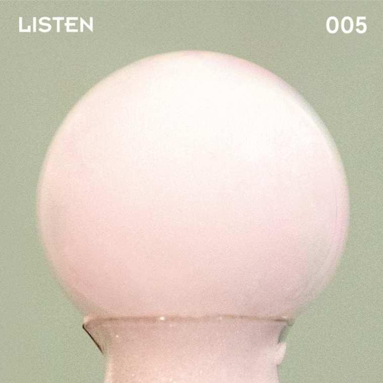 PERC%NT - Listen 005 Snowball (album cover)