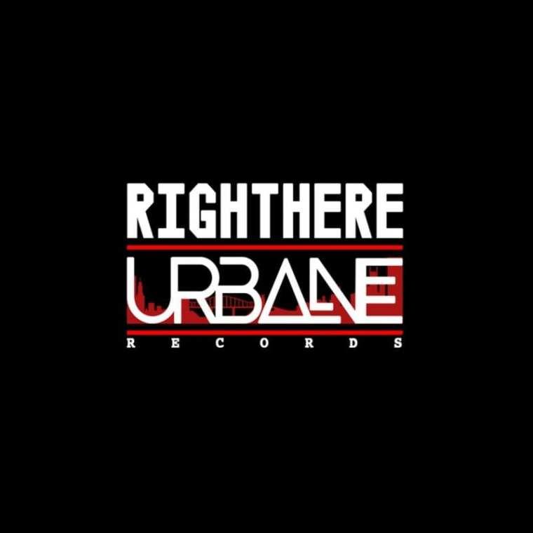 Urbane Records - RIGHT HERE (album cover)
