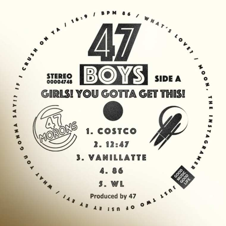 47 - Boys - Side A (album cover)