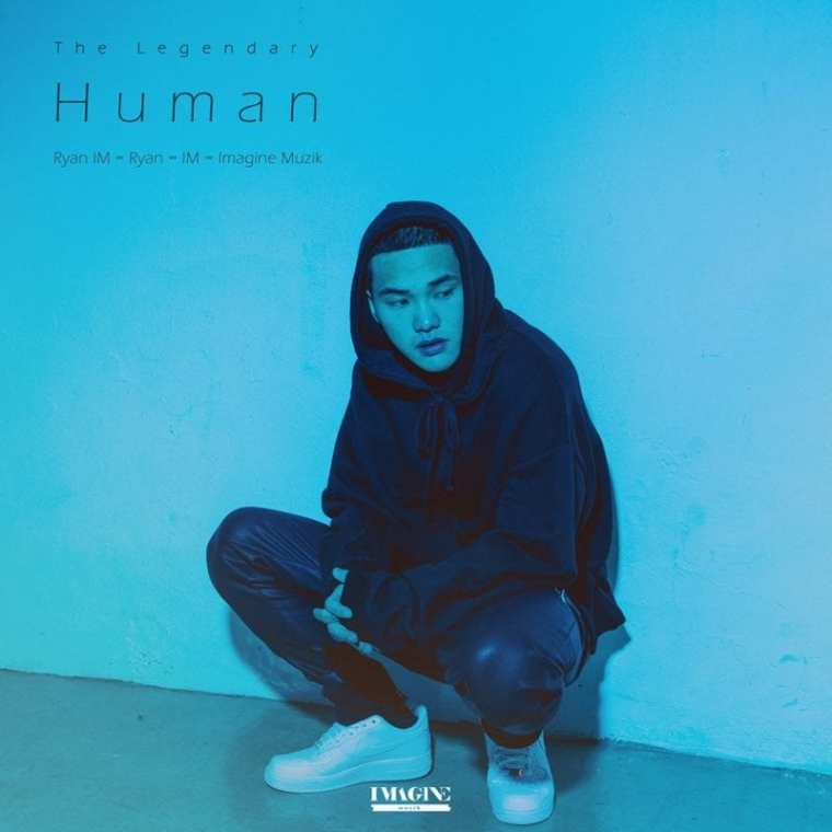 Ryan - The Legendary Human (album cover)