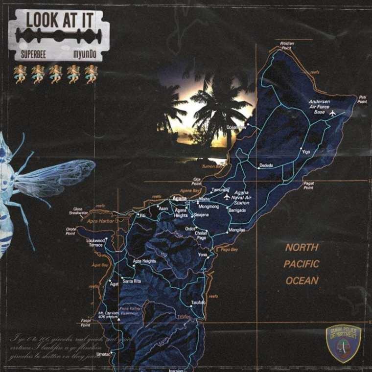 SUPERBEE, myunDo - Look At It (album cover)