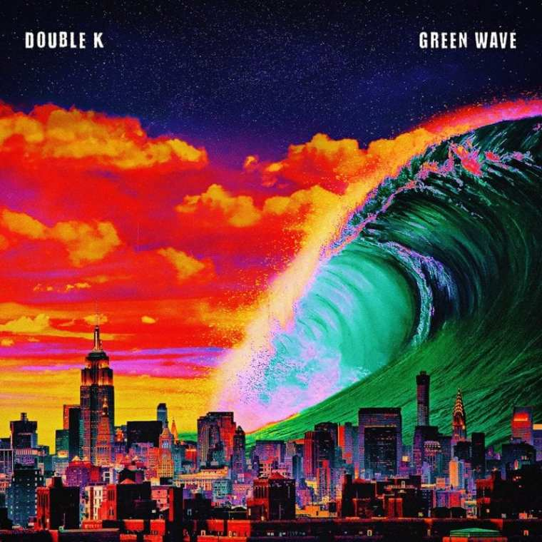 Double K - Green Wave (album cover)