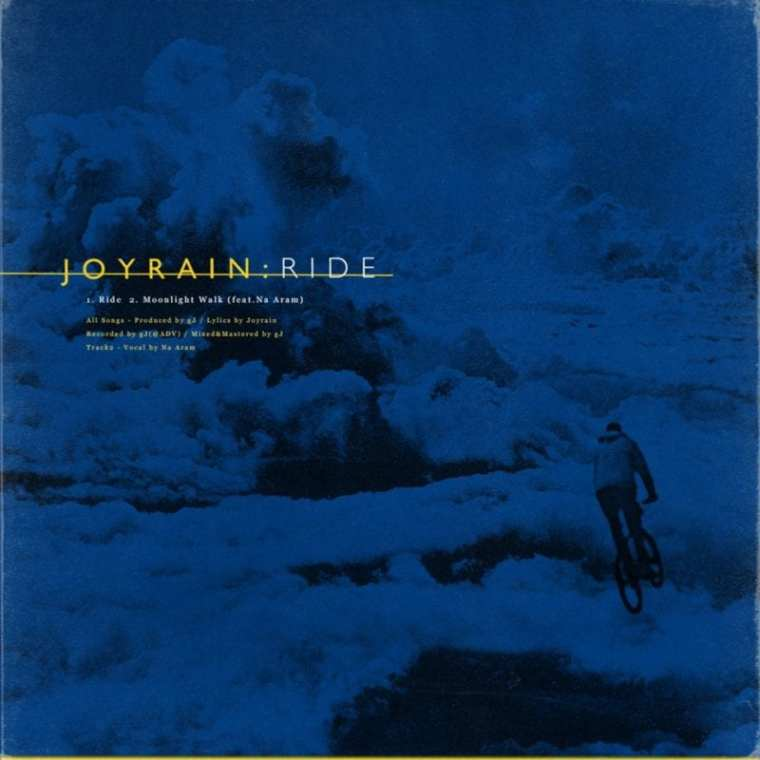 JoyRain - Ride (album cover)