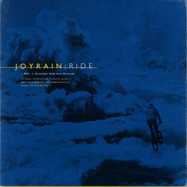 JoyRain - Ride (album cover)
