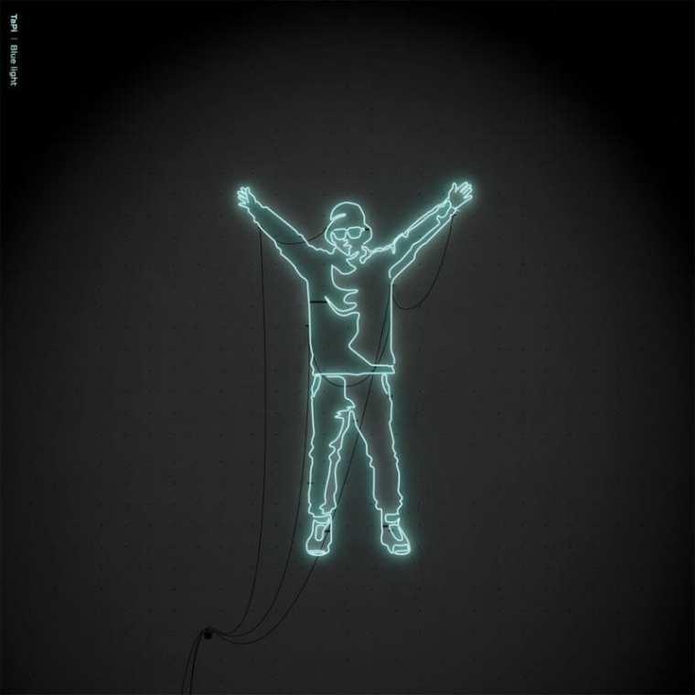 TaPi - Blue Light (album cover)