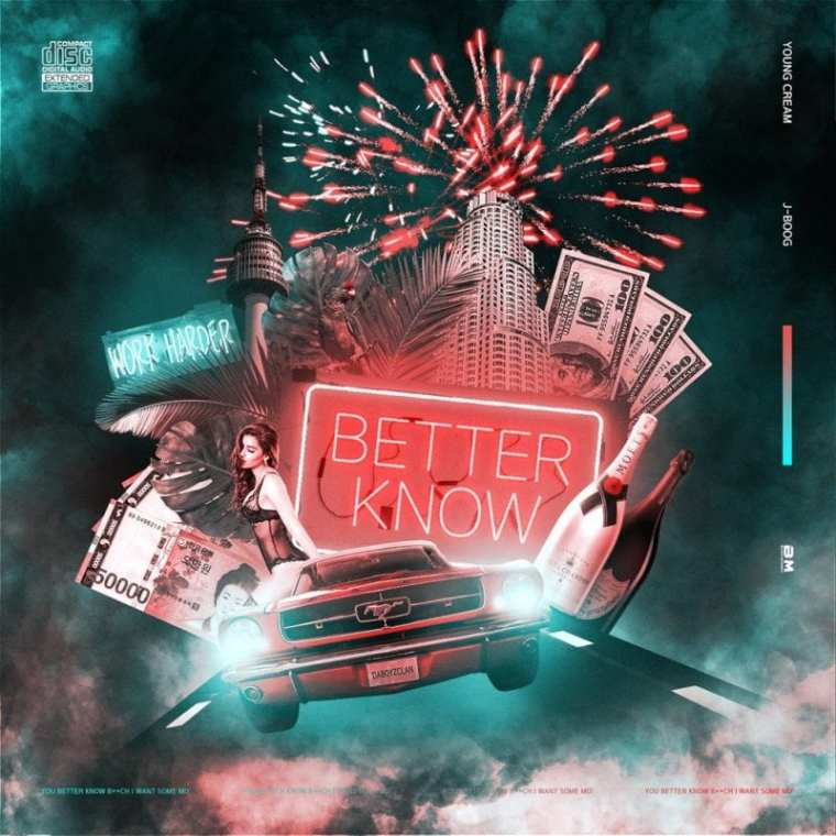 Young Cream - BETTER KNOW (album cover)