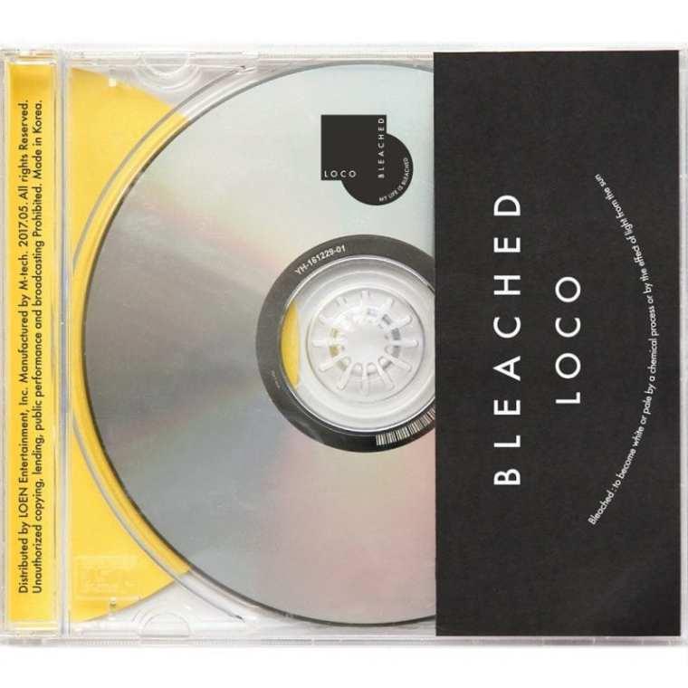 LOCO - BLEACHED (album cover)