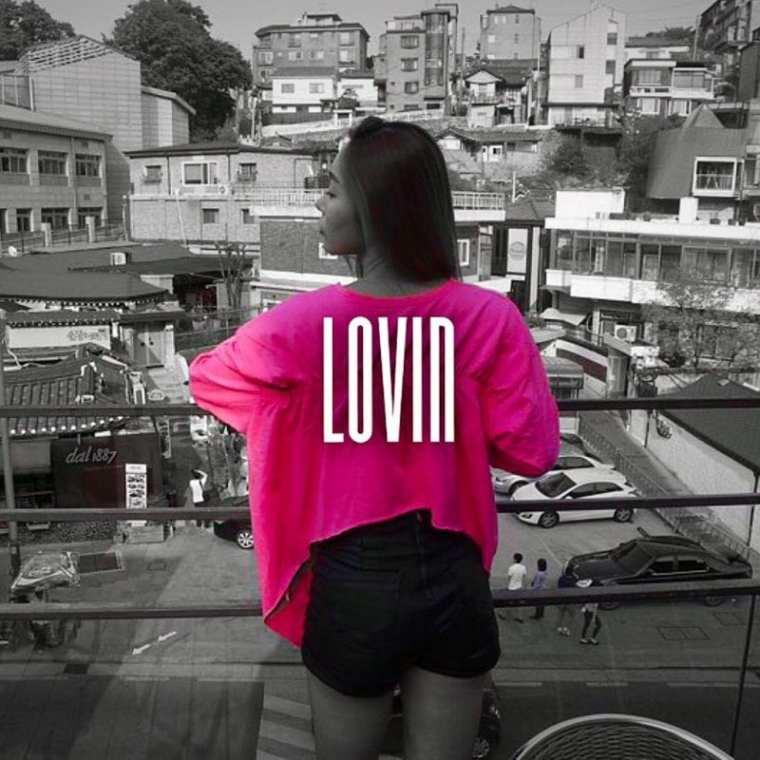 SEI - LOVIN (album cover)