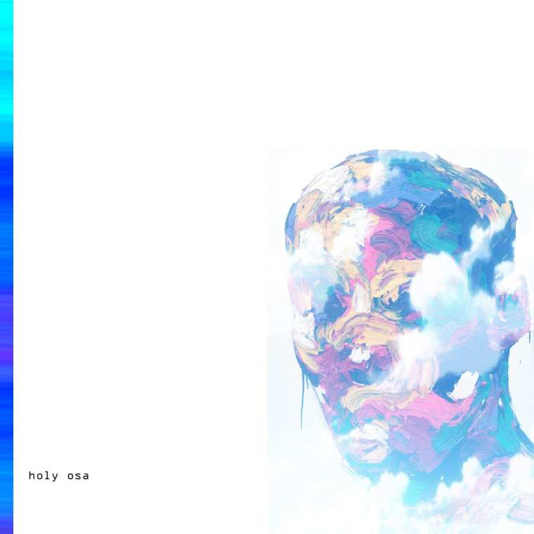 Holy Osa - Blu Scale (album cover)