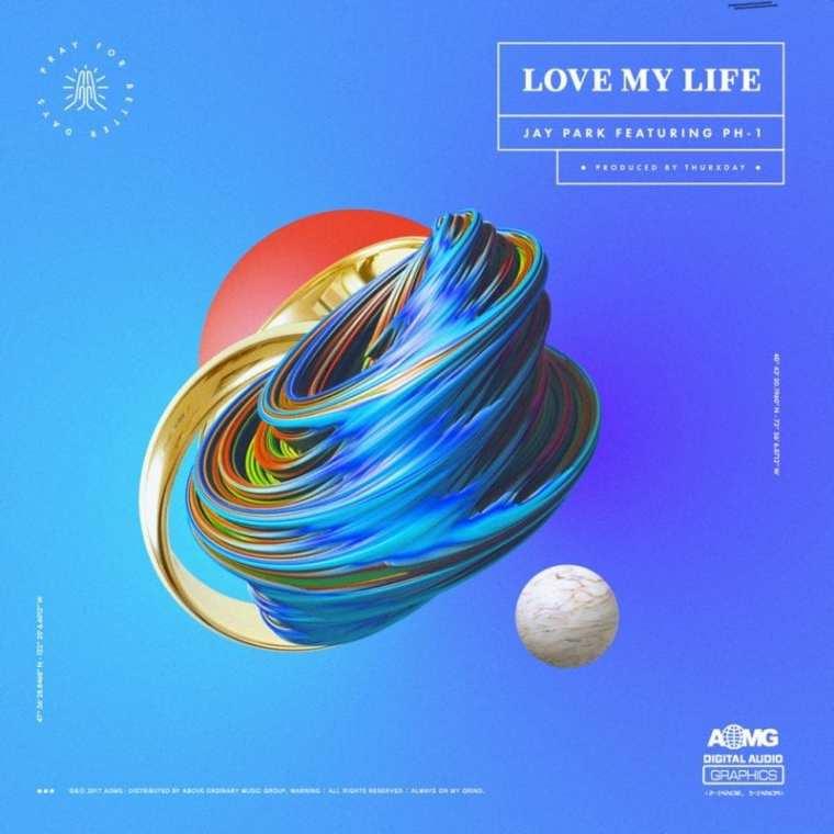 Jay Park - Love My Life (cover art)