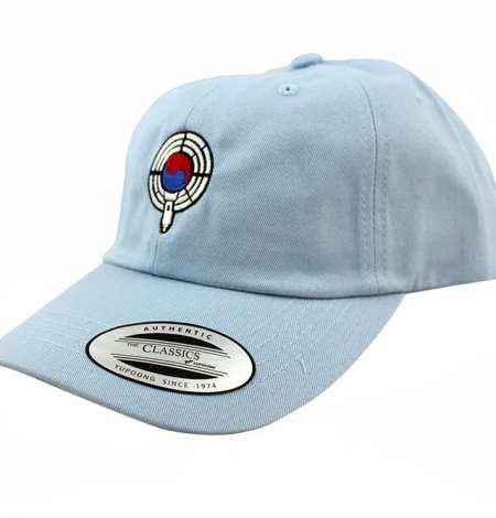 baby blue dad hat side