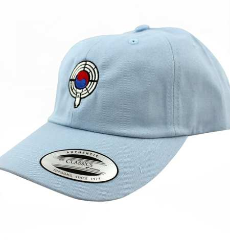 baby blue dad hat side